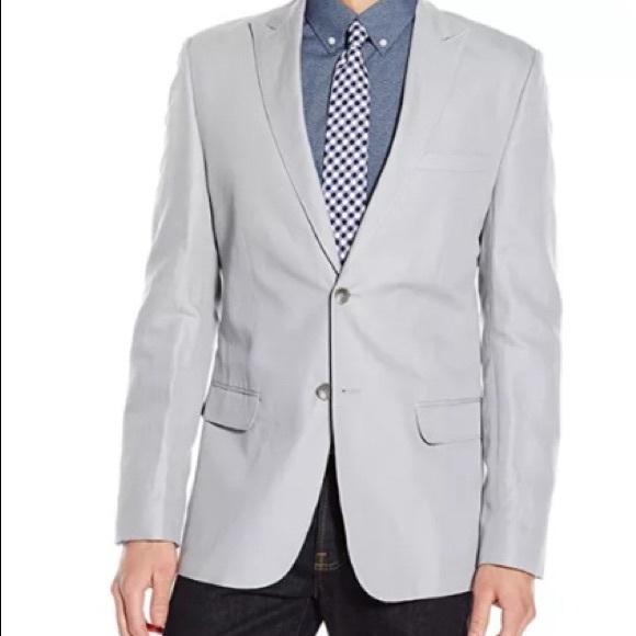 Calvin Klein Other - New Calvin Klein Slim Fit Linen Cotton Sportcoat